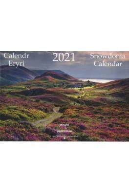 Calendr Eryri 2021 Snowdonia Calendar