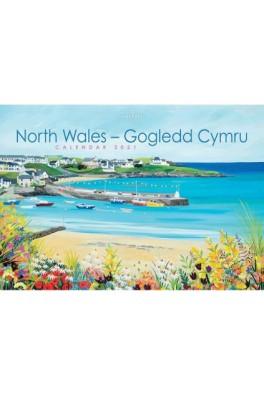 North Wales/Gogledd Cymru Janet Bell 2021 Calendar