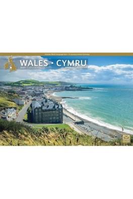 Wales/Cymru A4 2021 Calendar
