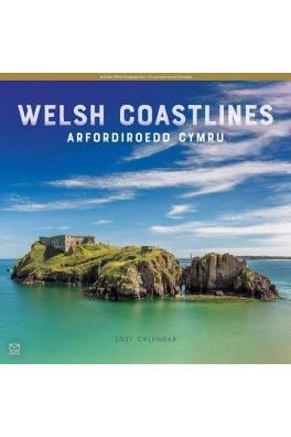 Welsh Coastlines/Arfordiroedd Cymru 2021 Calendar