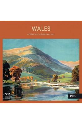 Wales Poster Art Calendar 2021