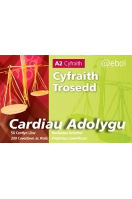 Cardiau Adolygu'r Gyfraith - Cyfraith Trosedd