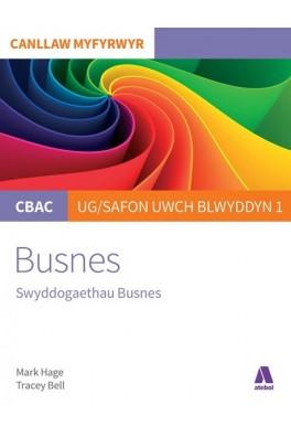 CBAC Canllaw Myfyrwyr: Busnes - Swyddogaethau Busnes