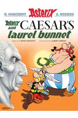 Asterix and Caesar's Laurel Bunnet (Asterix in Scots)
